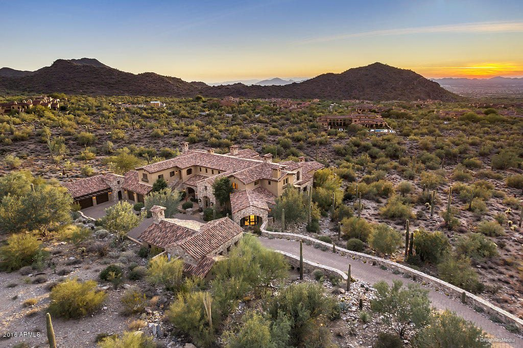 phoenix luxury real estate_dc ranch